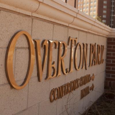 Overton Hotel - Cast Bronze
