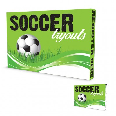 POP-Up Banner  Front ONLY or Front with Sides