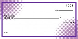 30in x 60in Purple Dots     Template