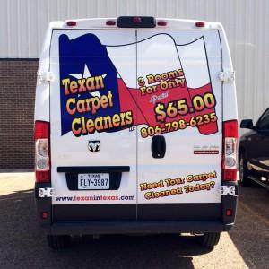 Texan Carpet Vehicle Wrap