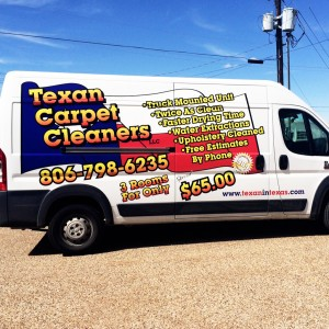 Texan Carpet Vehicle Wrap