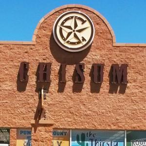 Chisum Channel Letters & Cabinet