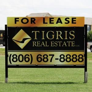 Tigris Leasing Sign