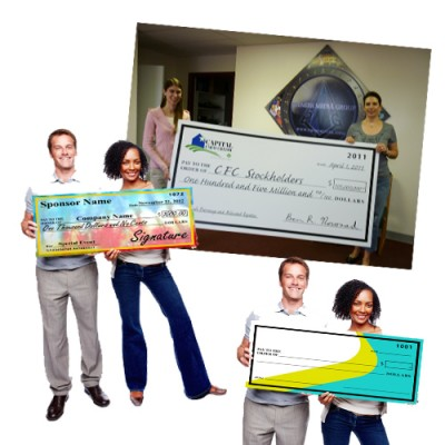 Over-Sized Checks