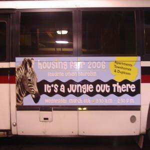 Bus Transit Vinyl